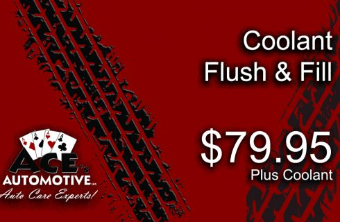 Coolant Flush & Fill
