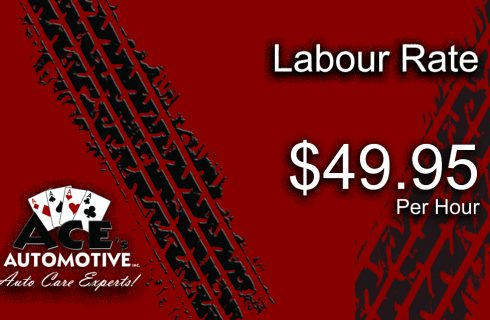 Labour Rate $49.95